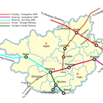 guangxi high speed rail network map
