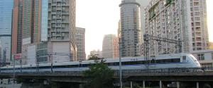 guangzhou shenzhen crh train