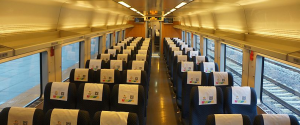 CRH train shenzhen guangzhou 2nd class seat