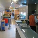 CRH train dinning car