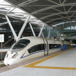 Train platforms at Guangzhou South