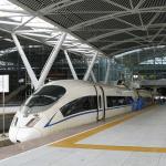 Train platforms at Guangzhou South