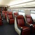 business class seat on crh380a