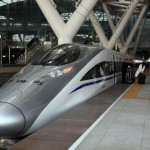 crh380a at Guangzhou south station