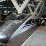 crh380a at Guangzhou south station