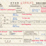 Nanning to Hanoi group tickets (more than 6 passengers) sample 3