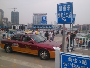 The best way to transfer btn Liuzhou station & Liujiang station is by taxi, CNY20-30, 15-20 mins